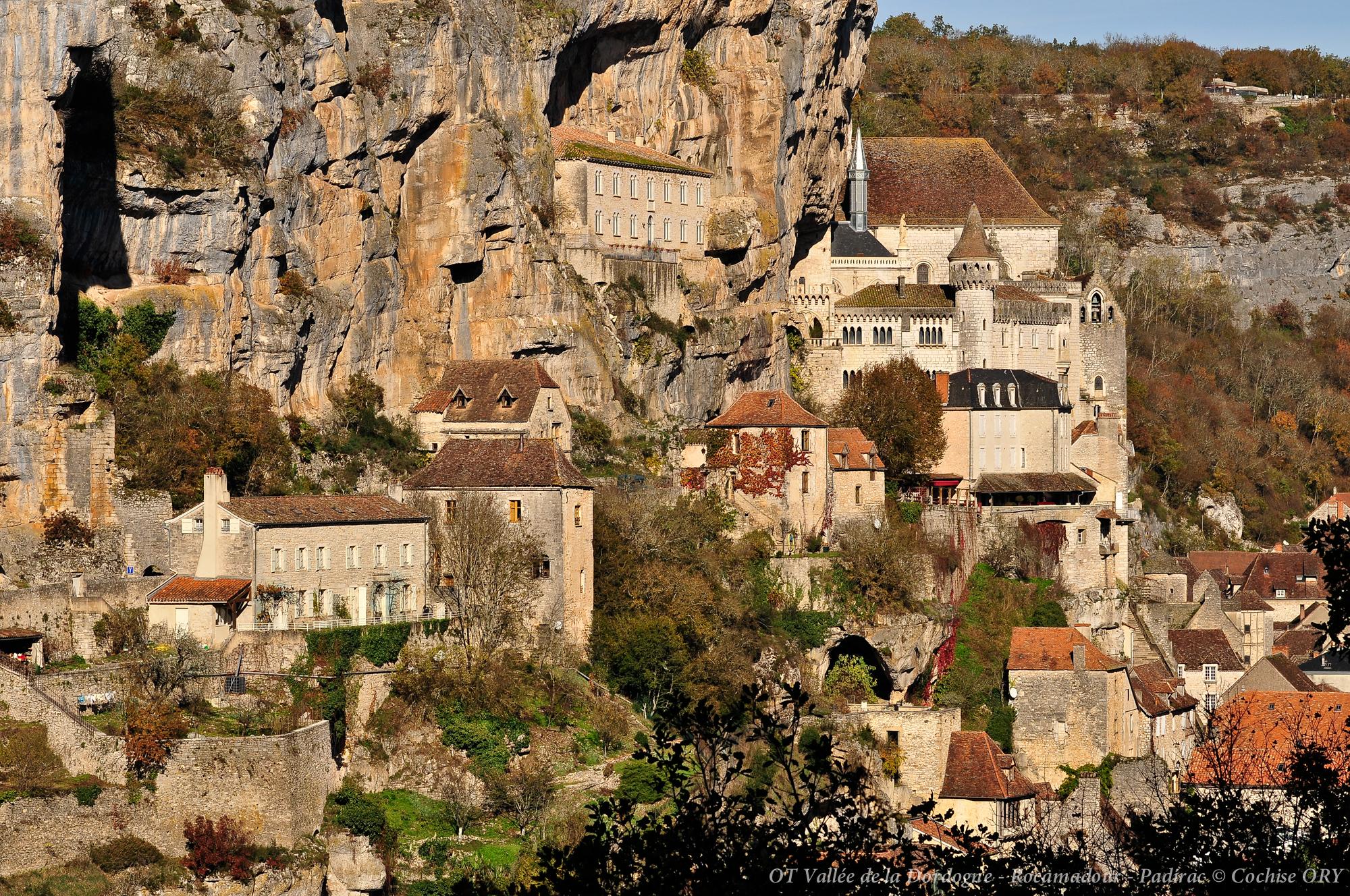 Le rocher de Rocamadour