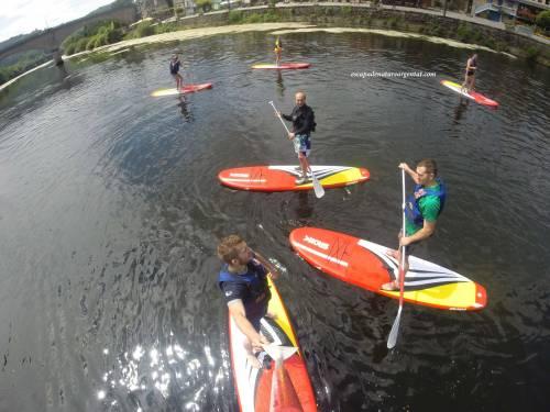 Stand up paddle sur la Dordogne